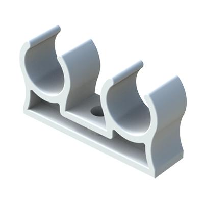 Abrazadera doble para tubos - Abrazaderas para tubos ...